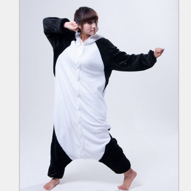 Cosplay Anime Animal Kung Fu Panda Adult Women Men Pajamas Halloween