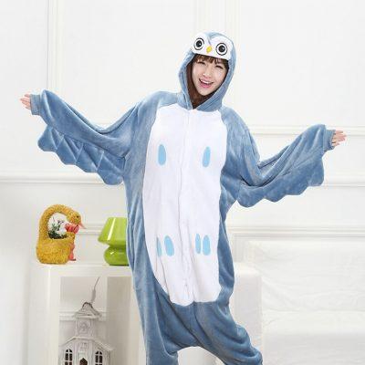 Owl pajamas for adults