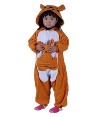 Kangaroo pajamas for kids
