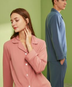 Long sleeve couple sleepwear