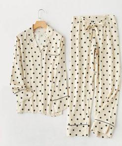 Polka Dot Pajama Set