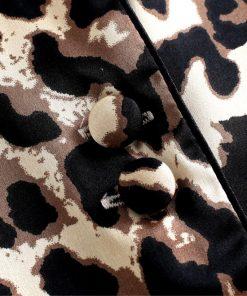 Leopard Print Couple Pajamas Set